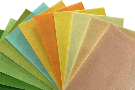 100gsm 200gsm 300gsm polyester needle punched nonwoven felt