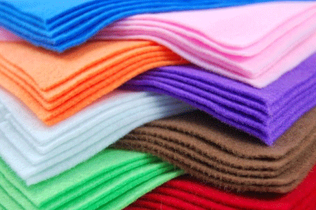 Nonwoven Cloth 100% polyester needle punched felt Nonwoven Rolls felts
