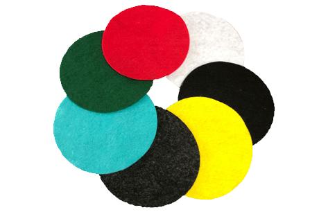 200g 1.5mm 100% polyester non woven fabric felt fabric rolls acrylic felt