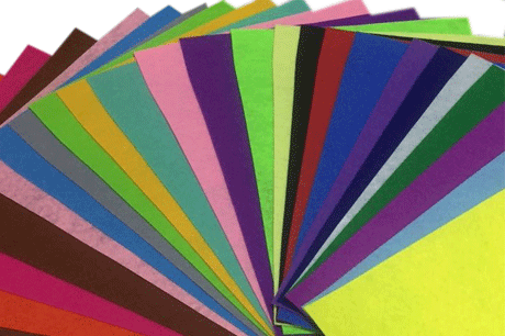 Craft sheets needle punched nonwoven fabric felt manufacturers