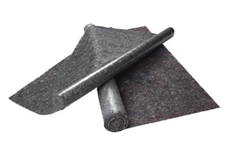 Anti-slip polyester needle-felt malervlies