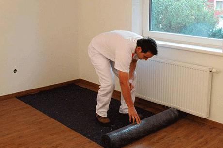 Breathable geotextile fabric painter felt cotton mat