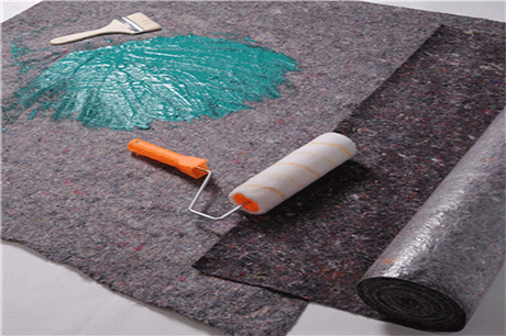 mattress material recycled felt absorbent fleece painter fleece